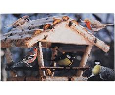 Esschert Design Frutti caduti Stampato Zerbino Bird Feeder