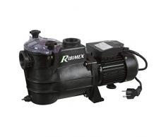 Ribimex PRSWIM750 Pompa Piscina Swim 750, 1000 W 195 l/min, Nero, 28x21x52 cm
