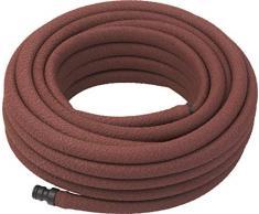Meister 9921910 - Tubo per irrigazione, Lunghezza 7,5 m, per irrigare Delicatamente, a Risparmio idrico, Flessibile per Sudorazione e irrigazione, Colore: Marrone