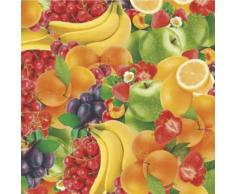 MAURER Tovaglia Cerata Rotolo da Muratore 140 20 m (Frutta