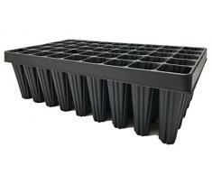 Set di Nutley di 2 vassoi per coltivazione di piante semi 45 buche taglia XL