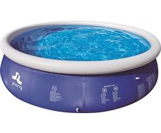 Jilong Pools Piscina Autoportante Rotonda 42084Cm, 8652 Litri, Blu, 420 x 84 cm