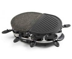Domo DO9059G Contact grill Electric barbecue - barbecues & grills (Black, Oval, Metal)