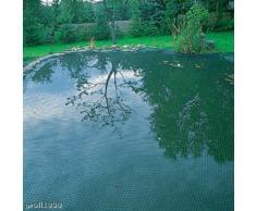 Xclou - Rete antiuccelli per stagno o giardino - Rete di copertura anti-animali per proteggere frutta/ortaggi, 6 x 10 m - Rete per laghetto, verde