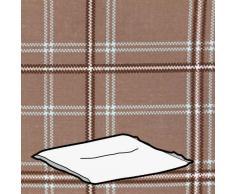 Kettler 0309403-8764 - Cuscino per sgabello, 48 x 48 x 6 cm, motivo a quadri, colore naturale