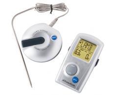 Ultranatura 200100000022 Termometro Radio Digitale per Barbecue TM-50, Display LCD, per arrostire la Carne, misuratore della Temperatura per griglia