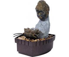 dobar Buddha - Fontana da Interni, Colore: Grigio