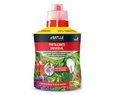 Semillas Batlle - Mod. 710800 UNID - Fertilizzante per Bonsai e Cactus, Confezione da 400 ml