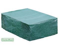 GardenMate® - Custodia protettiva per mobili giardino, qualità premium 120 g/m2 tessuto PE, 200 x 160 x 70 cm