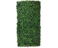 Siepe artificiale English Ivy Recinzione Balcone Giardino 50x100 cm EV