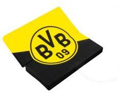 Borussia Dortmund BVB 12820700 strapuntino Cuscino, Nero/Giallo, 33 x 33 x 3 cm