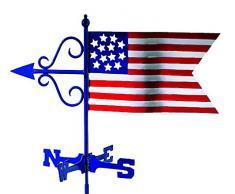 Good Directions 836R Bandiera Americana Cottage segnavento con tettuccio