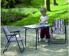 Best Migliore 35210020 Bambini Camping Sedia Pieghevole, Blu