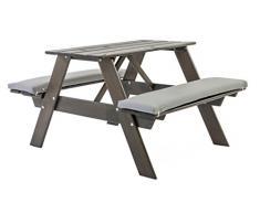 Ambientehome bambini, da picnic gioco Bank tavolo Bank Visby