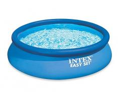 Intex 28156 Easy Set Piscina, 457 x 84 cm, Blu
