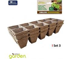 Little Garden 52391 - Set di 3 sementi per 10 piante, 22 x 8,5 x 5,5 cm