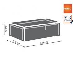 Perel Garden oct240 Custodia protettiva per tavolo da giardino di Massimo 240 cm, antracite, 245 x 105 x 75 cm