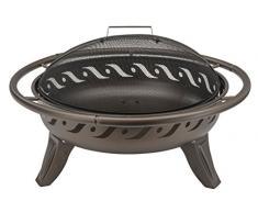 Landmann barbecue 22101 Firewave Fire Pit – marrone metallizzato