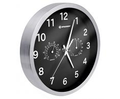 Bresser Orologio da Parete Termo-/ Igrometro Mytime 25cm - Nero