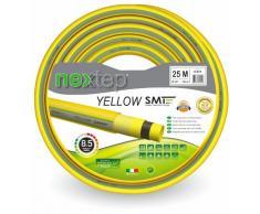Nextep Yellow SMT - Ø 5/8 (15 mm) - 25 mt - Tubo da giardino di alta qualità per irrigazione