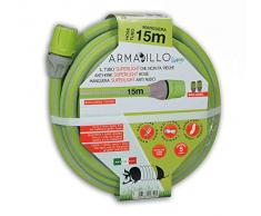 Idroeasy Armadillo Superlight 15 Metri, Tubo da Giardino, Tubo Acqua Super Leggero da Giardino Anti Nodo Canna Irrigazione Giardinaggio Anti Torsione