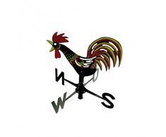 Xclou Wind gioco Banderuola, con indicatore di direzione del vento, per giardino e balcone, in plastica di alta qualità, ca. 31 X 7 X 45, Giallo, Nero, Rosso