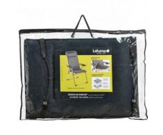 Lafuma Air Comfort Cuscino per Sedie, Acier, 47x1x109 cm