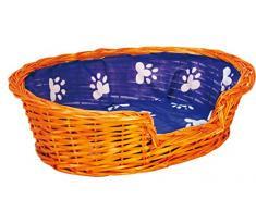Croci Vimini Cuccia per Cani o Gatti, Marrone, 47x39x13 cm