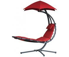 Vivere Dream-CR Dream Chair Poltrona Originale, 120 kg, Rosso Ciliegia