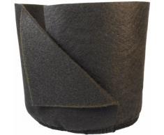 Smart vasi Morbida e Confortevole repiqueuse Meccanico Contenitore di Piante, 2-Gallon, Nero