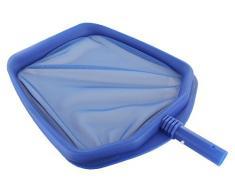Steinbach pulizia piscina Foglia rastrello, con telaio in plastica rinforzata, blu, registrando per prolunga telescopica, 360 x 380 mm 061 105