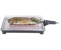 Tristar Barbecue Elettrico da Tavolo BQ-2805, Black, 30x30.5x7 cm