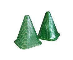 Xclou in verde piante sole cappello come in Sun Hat (confezione da 10 mini serra fitosanitari, pianta di copertura per mini serra per piante crescita Bell & cloche