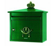 Brabantia 640544 Cassetta della Posta B 210, Verde