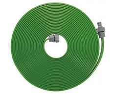 Gardena 1998-20 Tubo Irrigatore, Nebulizzatore per lIrrigazione di Zone Lunghe e Strette, 15 m, Pronto allUso, Accorciabile o Allungabile, Verde
