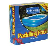 kingfisher - Piscina Gonfiabile FPOOL, Colore Blu