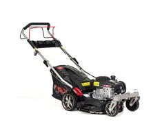 NAX 1000S Motor Briggs & Stratton 450E Series 125 cm3 Mähbreite 42cm Fangkorb 45l Gehäusereinigungssystem Tosaerba a Benzina con azionamento, Nero