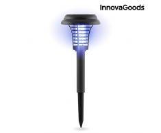 Innovagoods Sl-700 Lampada Solare Antizanzare per Giardino, Nero