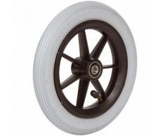 Accessori carrozzina: 06033025 Ruota 7′ x 1¾ pneumatica grigia