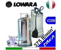 Lowara pompa Sommersa DIWA versioni manuale e automatica completa di galleggiante elettrico