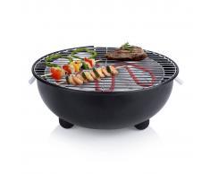 Tristar Barbecue Elettrico da Tavolo BQ-2880 1250 W 30 cm Nero