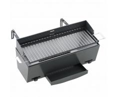 Landmann Barbecue a Carbone da Balcone 49x18 cm Nero 11900