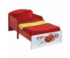 Disney Lettino per Bambini Cars142x59x77 cm Red WORL320002