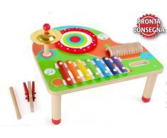 Legler Tavolo Xilofono per Bambini di Legler