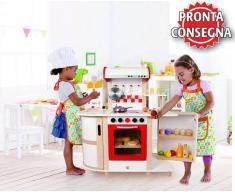 Hape Cucina Multifunzione per Bambini in Legno Hape - Offerta