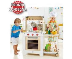 Hape Cucina Cuoci e Servi per Bambini in Legno Hape - Offerta