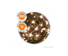 Catena 300 Luci LED Reflex Bianco Caldo a Batterie con Controller Memory - per Interno e Esterno