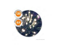 Catena 120 Luci LED Reflex Bianco Caldo con Controller Memory - per Interno e Esterno