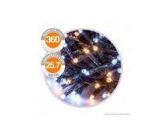 Catena 360 Luci LED Reflex Bianco Caldo & Freddo con Controller Memory - per Interno e Esterno