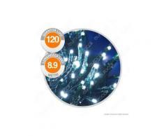 Catena 120 Luci LED Reflex Bianco Freddo con Controller Memory - per Interno e Esterno